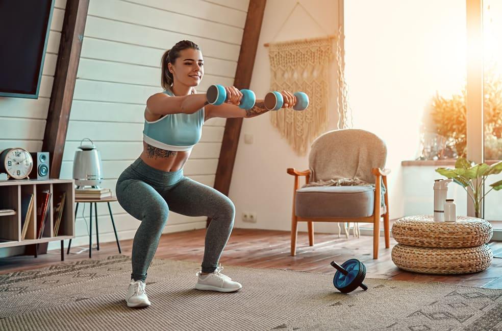 Comment perdre du poids sans sortir de chez soi ?